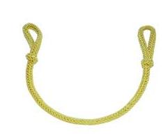 Jednoduchý podbradník -zlatý