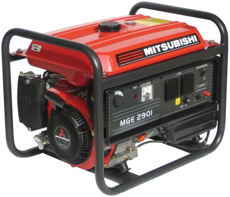 Elektrocentrála MGE 2901 s AVR
