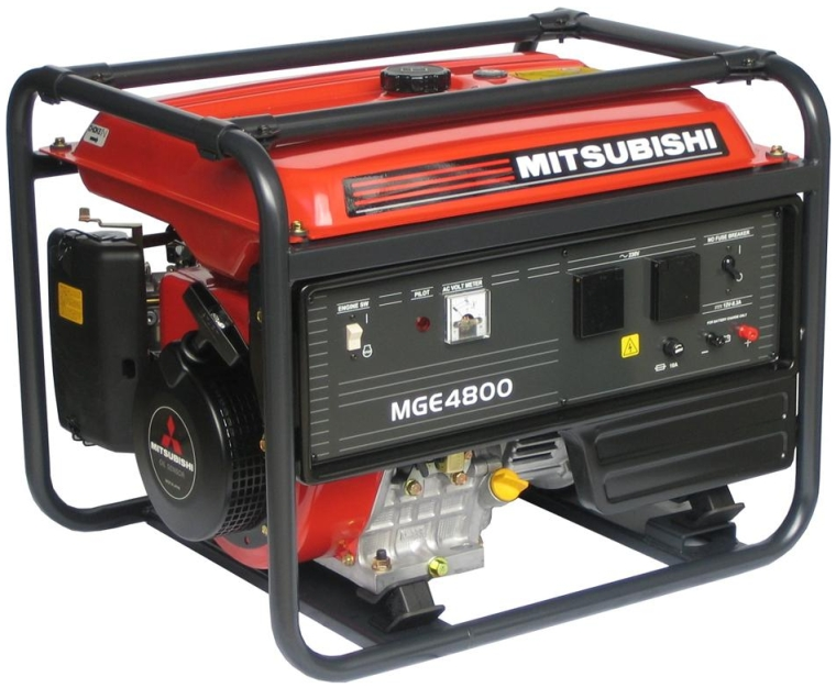 Elektrocentrála MGE 4800 s AVR