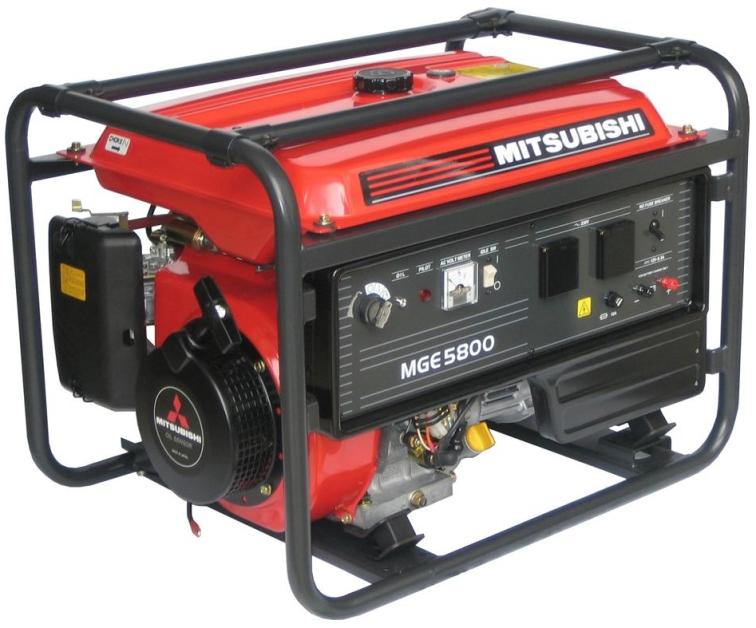 Elektrocentrála MGE 5800 s AVR